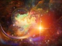 Nebula Backdrop Stock Photography