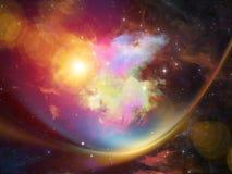 Nebula Background Royalty Free Stock Photo