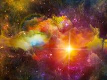 Nebula Background Stock Image