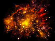 Nebula Background Royalty Free Stock Photos