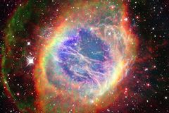 Nebula in beautiful endless universe. Awesome for wallpaper and print. Elements of this image furnished by NASA stock image