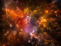 Nebula Colors Stock Images