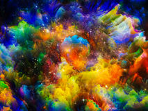 Nebula Colors Stock Images