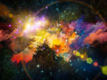 Nebula Composition Royalty Free Stock Images