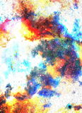 Nebula, Cosmic space and stars, blue cosmic abstract background. Elements of this image furnished by NASA. Nebula, Cosmic space and stars, blue cosmic abstract Royalty Free Stock Photography