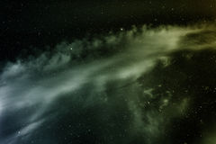 Nebula in deep space. Royalty Free Stock Photos