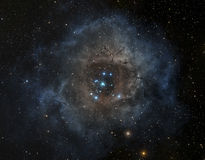Nebula in deep space Stock Photography