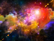 Nebula Design Royalty Free Stock Photography