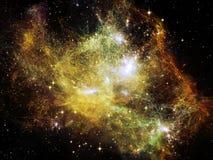 Nebula Elegance Stock Image
