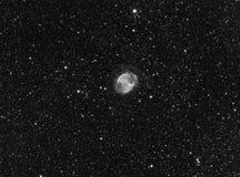 nebula för hantel m27 Arkivbild