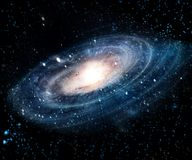 Nebula and galaxies in space. Elements of this image furnished by NASA. The best option for your design project stock photo