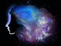 Nebula Girl Stock Photos