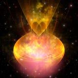 nebula hourglass Стоковые Фото