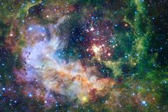 Nebula an interstellar cloud of star dust. Outer space image. Elements of this image furnished by NASA royalty free stock images