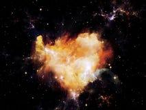 Nebula Lights Stock Photography