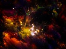 Nebula Lights Stock Photo