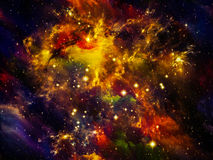 Nebula Lights Stock Image