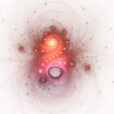 Nebula like fractal swirls Vector Illustration