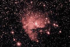 nebula ngc281 pacman стоковые фотографии rf