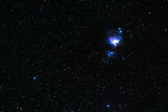 nebula orion Arkivfoton