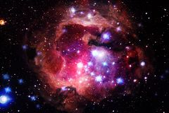 Nebula. Outer space image that is suitable for wallpaper. Elements of this image furnished by NASA stock photo