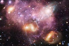 Nebula. Outer space image that is suitable for wallpaper. Elements of this image furnished by NASA royalty free stock photo