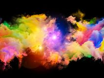 Nebula Propagation Stock Images