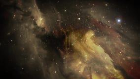 Nebula space animate background.
