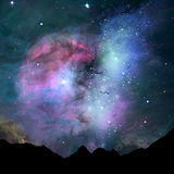 Nebula Royalty Free Stock Photography