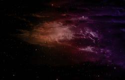 Nebula and stars. Stock Photos