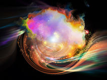 Nebula Vortex Royalty Free Stock Images