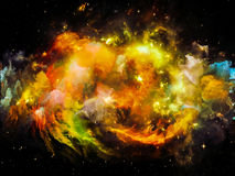 Nebula Vortex Royalty Free Stock Photo