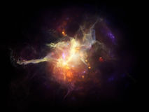Nebulae Arrangement Stock Photos