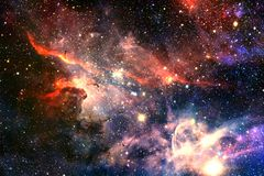 Nebulae an interstellar cloud of star dust. Elements of this image furnished by NASA royalty free stock image