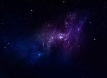 Nebulae, space background Royalty Free Stock Images
