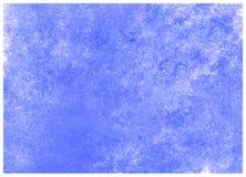 Nebulas Błękitnej abstrakcjonistycznej akwareli tekstury makro- tło Wysoka Rozdzielczo?? obrazy royalty free