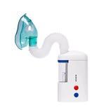 Nebulizer com máscara de gás imagem de stock