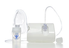 Nebulizer for respiratory inhaler asthma treatment Royalty Free Stock Images