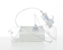 Nebulizer for respiratory inhaler asthma treatment Stock Photo
