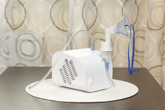 Nebulizer is used to administer medication to people Royalty Free Stock Photography