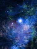 Nebulosa Fotografia Stock