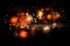 Nebulosa abstracta ilustración del vector