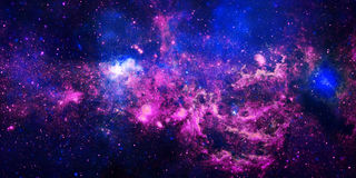Nebulosa ardente della stella illustrazione di stock