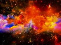 Nebulosa astral imagens de stock