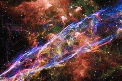 Nebulosa in bello universo senza fine Impressionante per la carta da parati e la stampa fotografia stock
