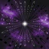 Nebulosa binária ilustração stock