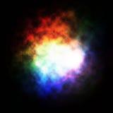 Nebulosa colorata Immagine Stock Libera da Diritti