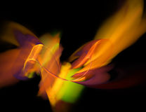 Nebulosa colorida no espaço Fotos de Stock