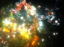 Nebulosa da estrela do espaço Fotografia de Stock