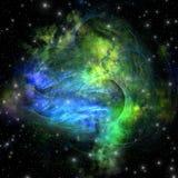 Nebulosa de la emisión Fotos de archivo libres de regalías